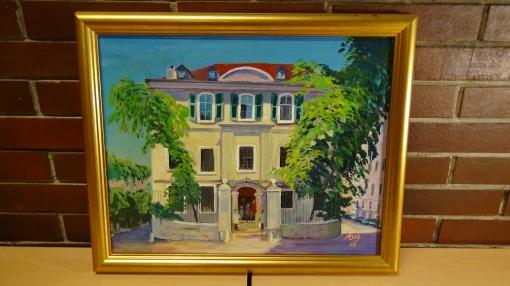 10. Oil painting original, 2007.