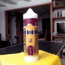 6. Our temple candle