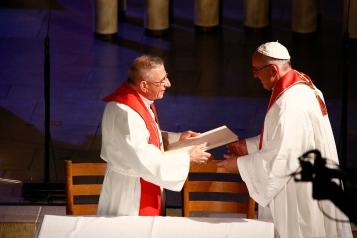 Bishop Munib Younan; Pope Francis