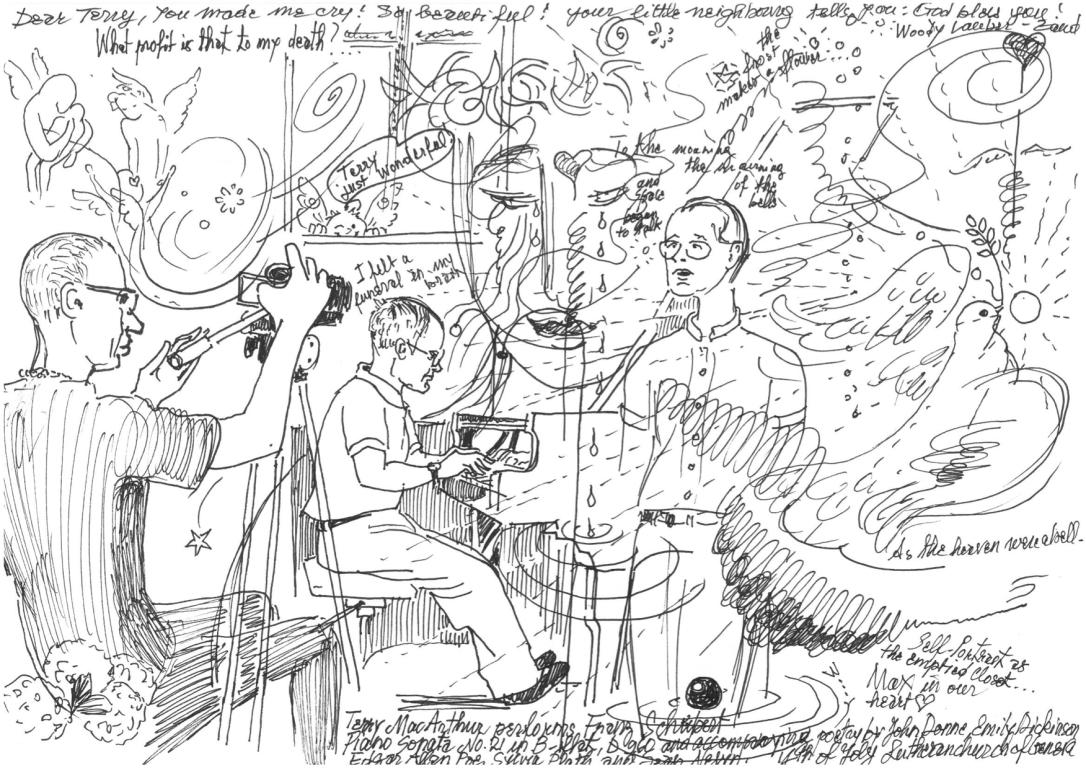 DrawingSchubertRecital