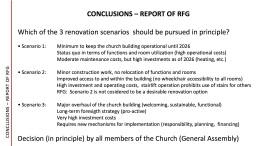 19Prasentation RFG Renovierung Kircheng ebäude 17.9.2017 English version